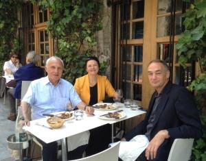 Patrick Hébert, Betsan Martin, Adrian Macey