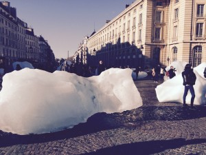 Melting Ice at the Panthéon